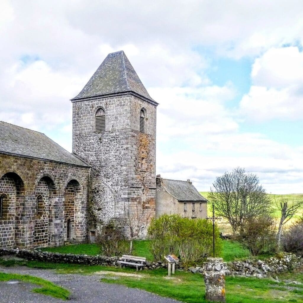 The village church of Aubrac
